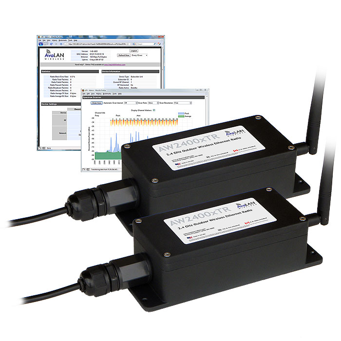 A Secure And Reliable Solution That Allows You To Build Point Multipoint Wireless Ethernet Connections