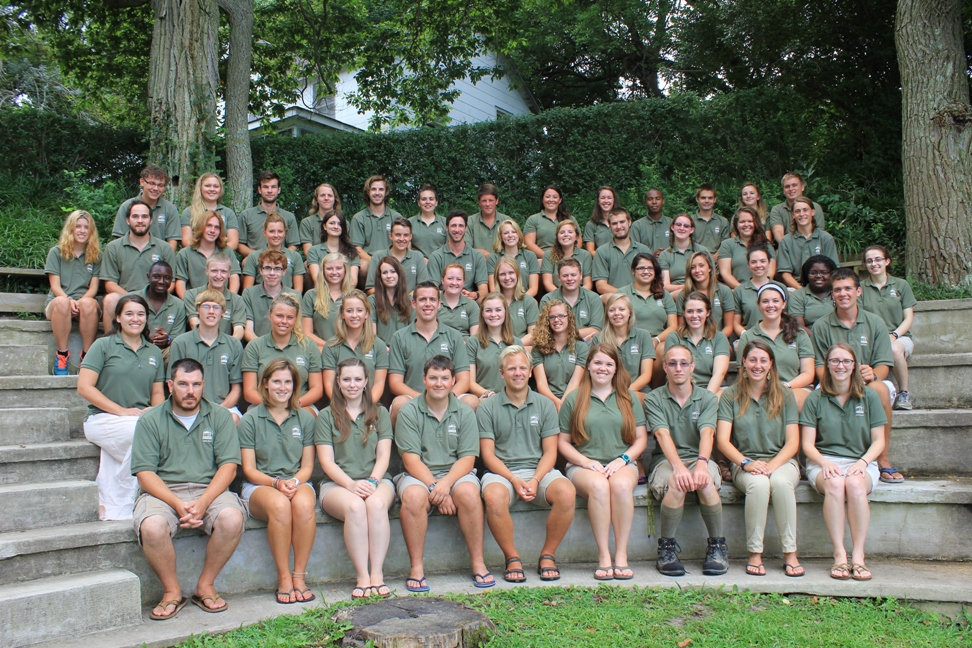 Christian Summer Camp Staff at Pecometh