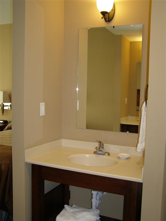 Vanity Outside Bathroom pecometh | riverview retreat center gallery