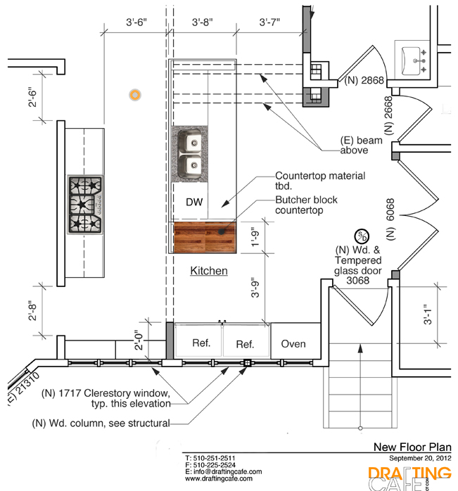 Kitchen Renovation Size Requirements: Bekah And AJ's Kitchen Remodel In Berkeley, CA