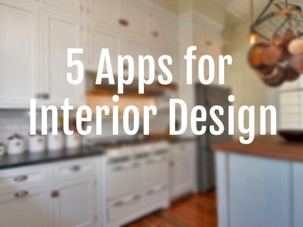. 5 Interior Design Apps