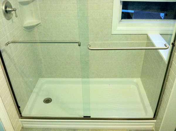 bathtub to shower remodel