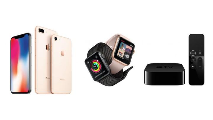 iPhone X ja apple TV 4K