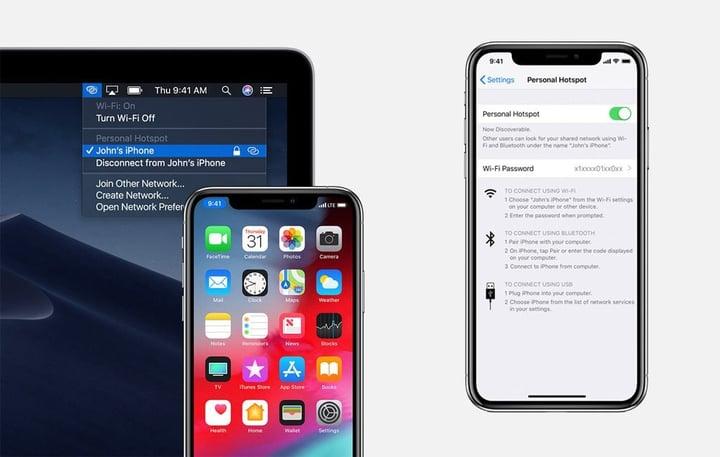 iphone hotspot