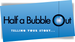 Half a Bubble Out logo