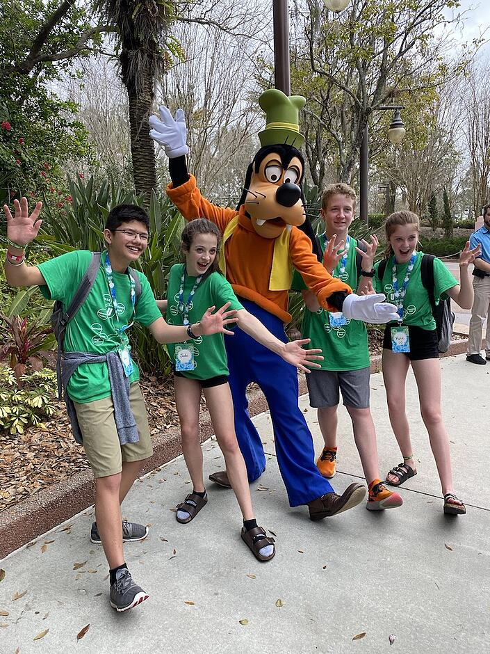 School Trip To Walt Disney World, Orlando