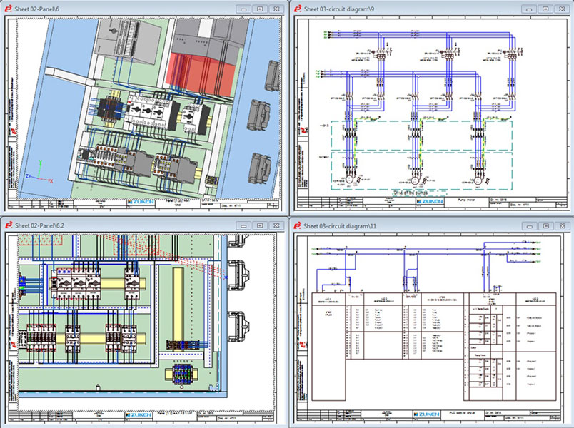electrical schematic software | e3.schematic, Wiring electric