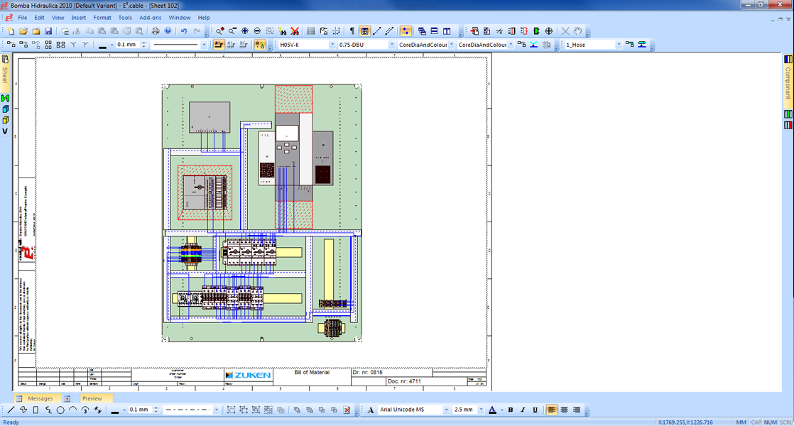 Electrical panel pesign software e3 panel for 2d design online