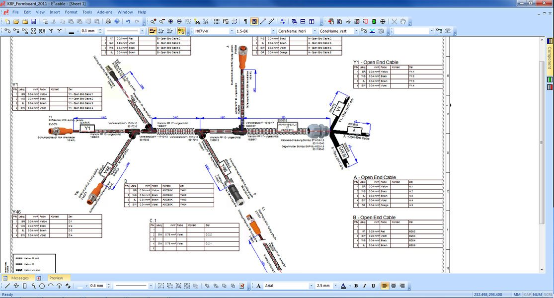 electrical harness design software GET YOUR HARNESSES READY FOR PRODUCTION Lightbox drawing software readingrat net wire harness designer at virtualis.co