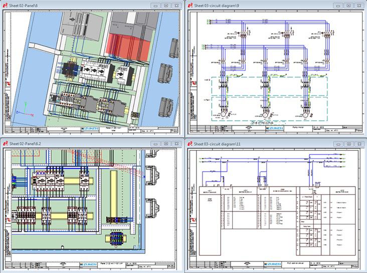 Electrical Panel Pesign Software EPanel - Electrical panel wiring diagram