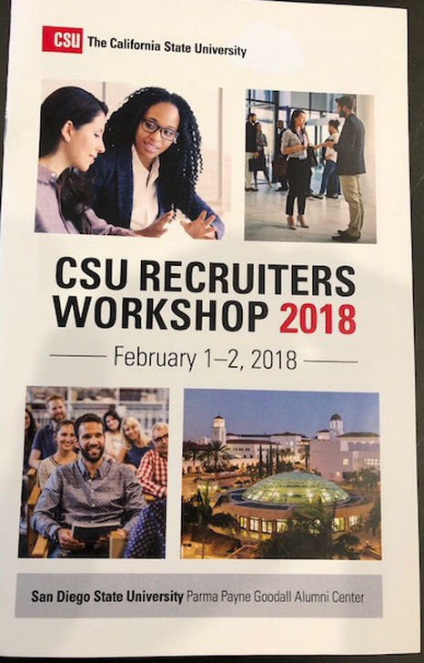 CSU Recruiters Workshop 2018