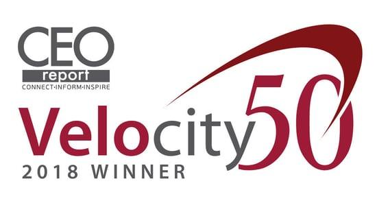 Velocity50 2018 Winner