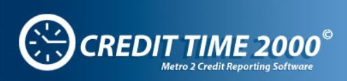 Credit Time 2000 color logo