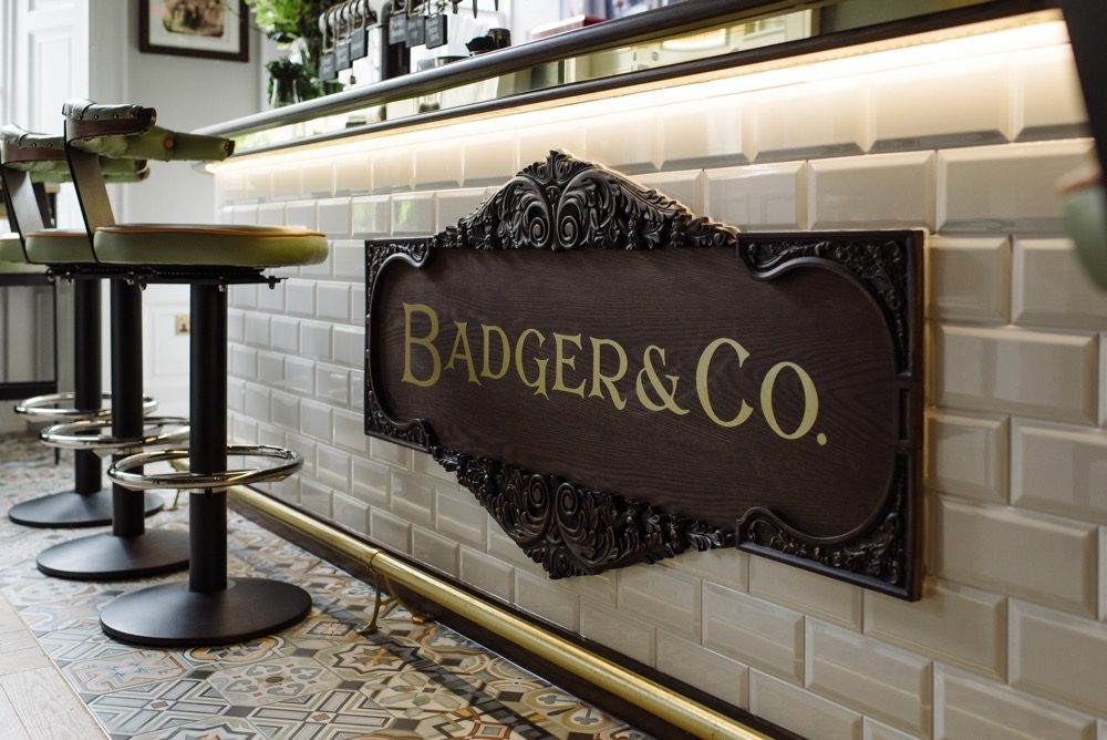 Badger and Co. Wind in the Willows Inspired pub, bar, restaurant designers.