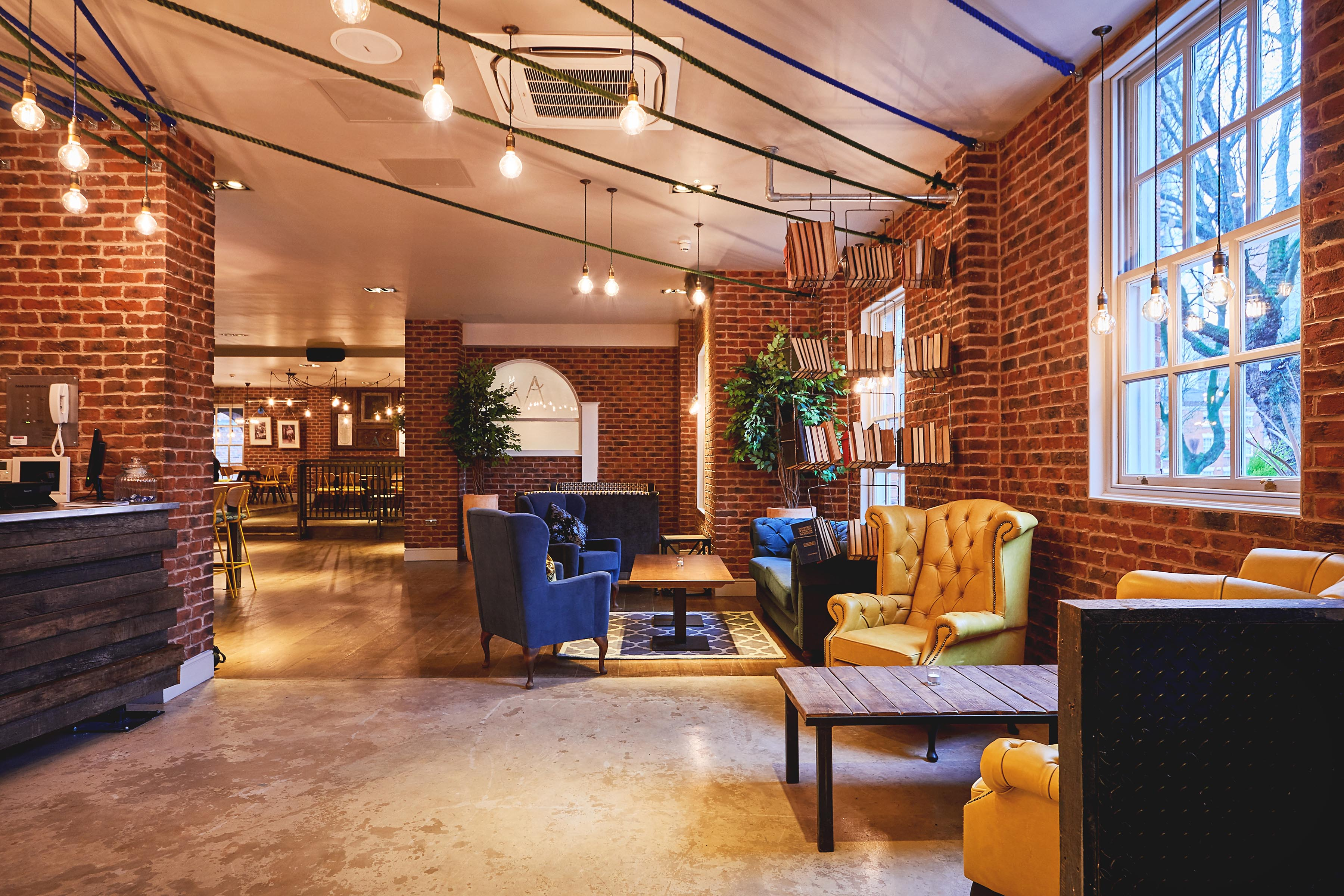 ... Quirky And Cool Bar Restaurant Design