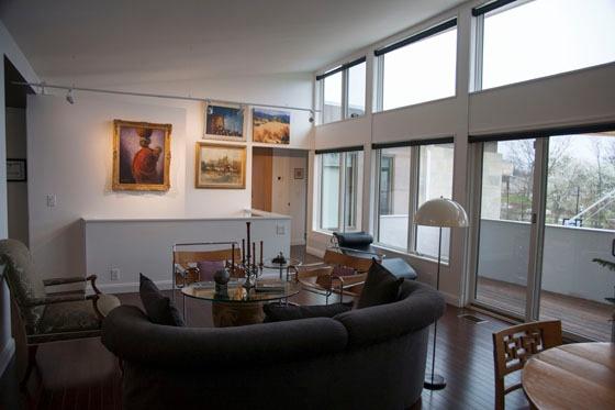 Living Room 4 LEED Platinum Cincinnati