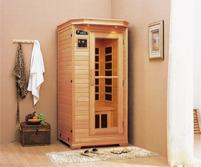 Saunas in various sizes are available from All American Recreation