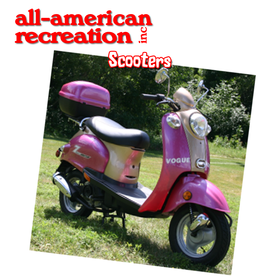 Ethanol free gas scooter