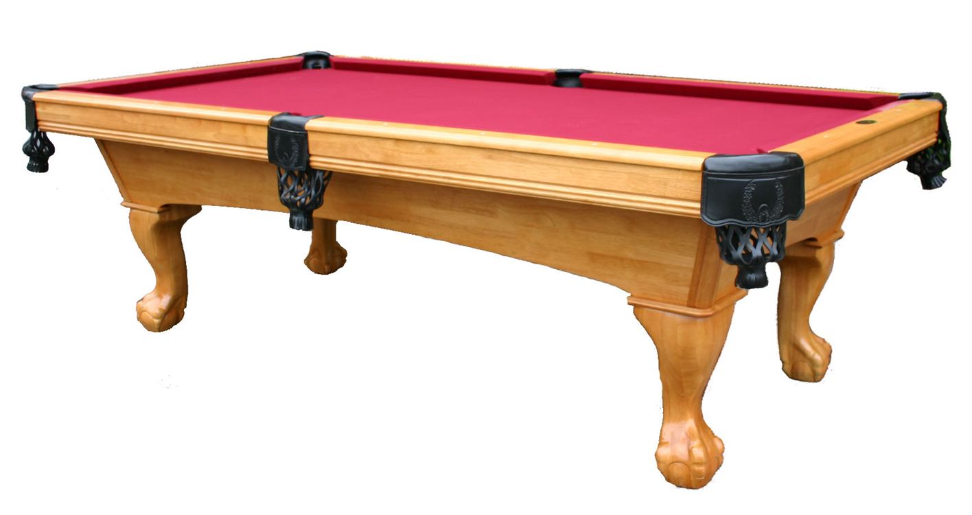 Glacier pool table - Slate pool table ...