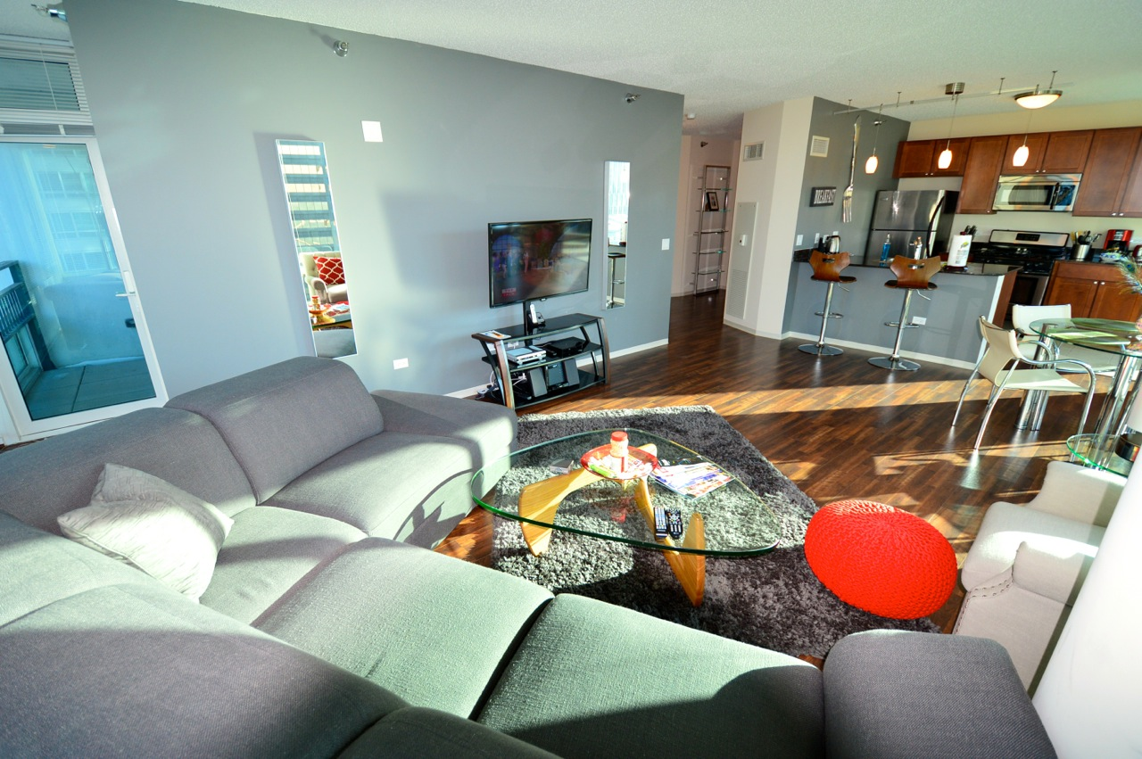 place corporate housing chicago 1 bedroom furnished apartments