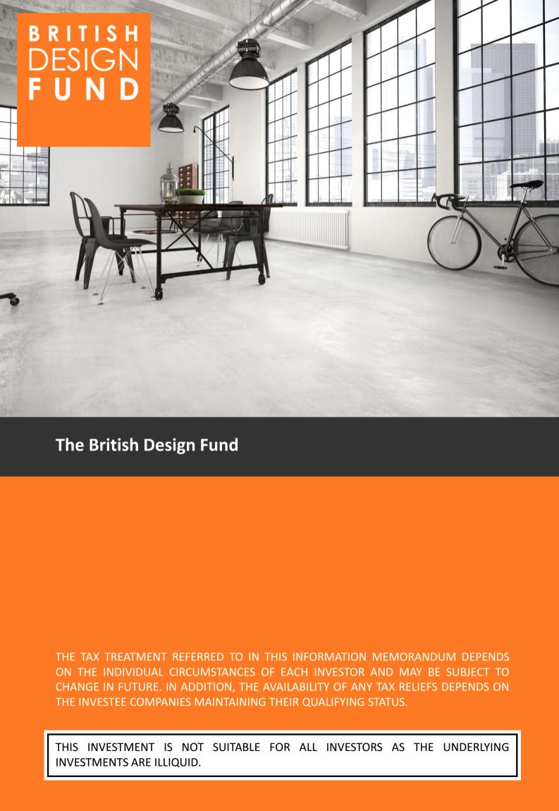 The British Design Fund