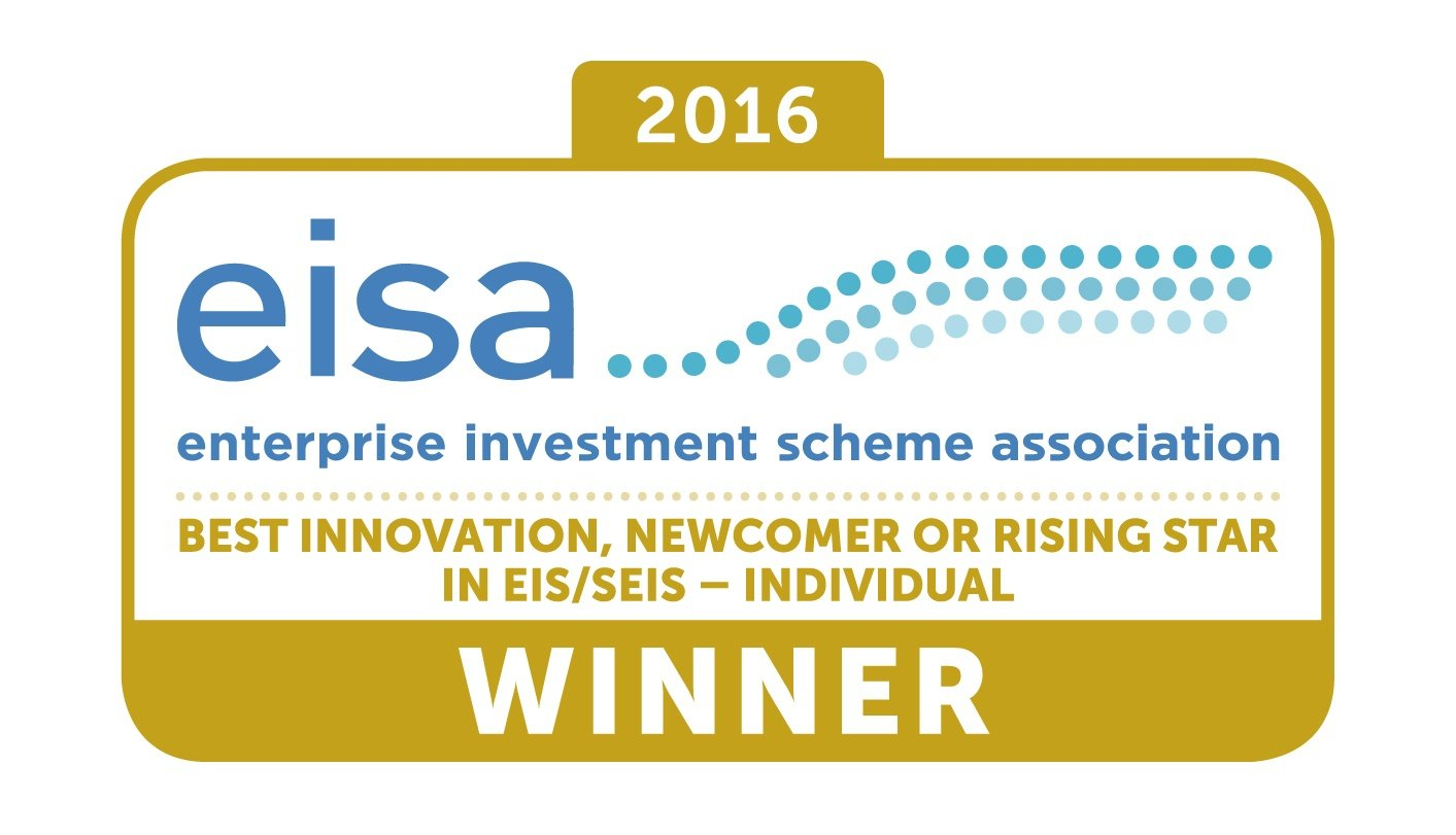 EISA Awards - House of Lords - February 2017 Best Individual - rising star in EIS and SEIS