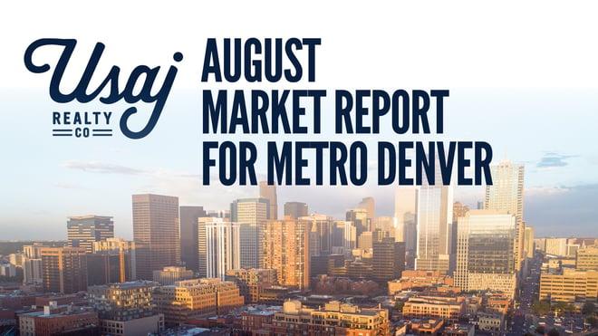 august market report in denver