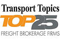 Transport Topics Top 25 Freight Brokers - SunteckTTS