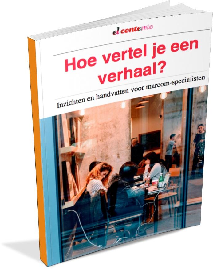 Cover white paper 'Hoe vertel je een verhaal?'