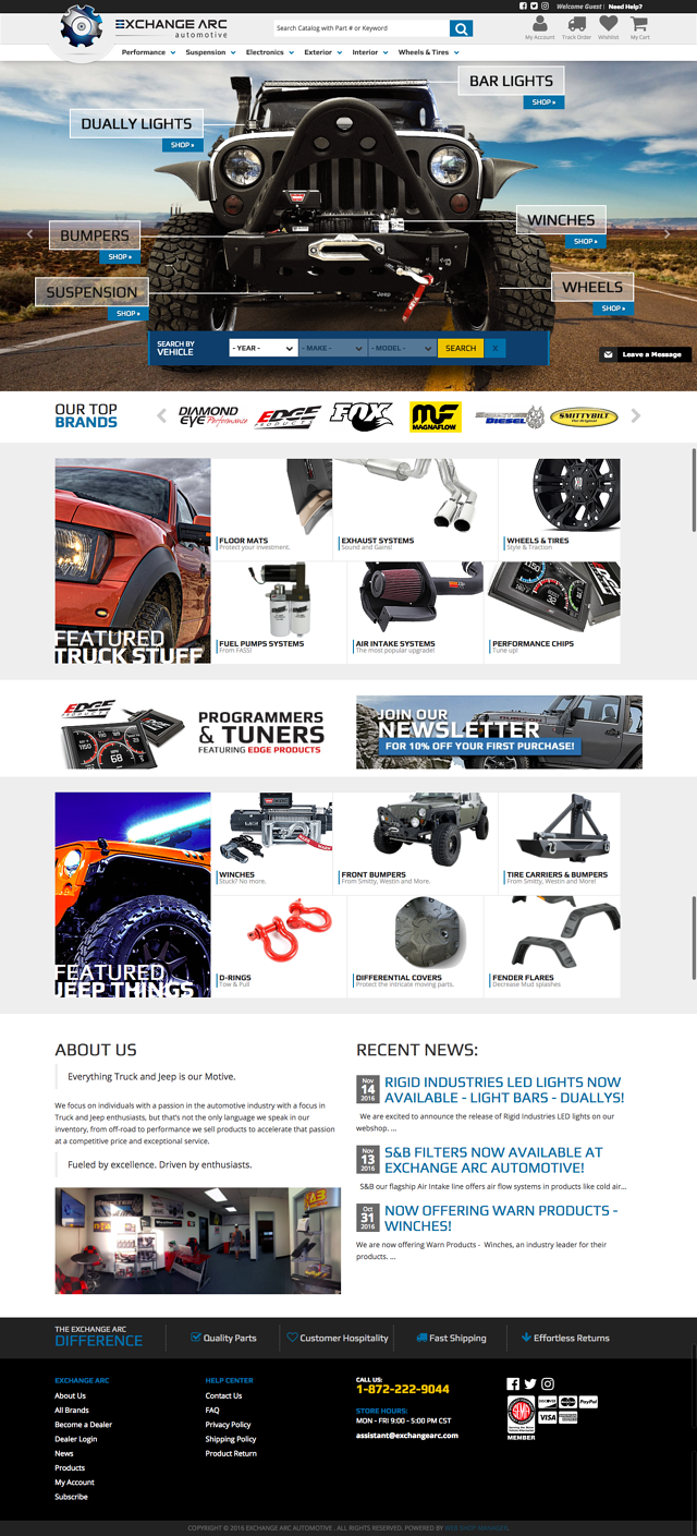 Exchange Arc Automotive