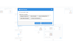 interactive organizational charts