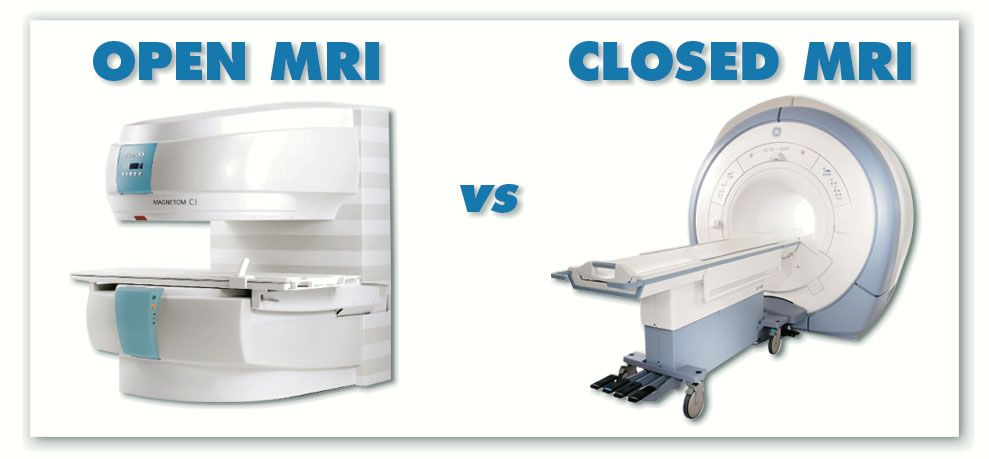 Open vs Closed MRI