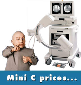 mini c arm prices how much is a mini c arm really going