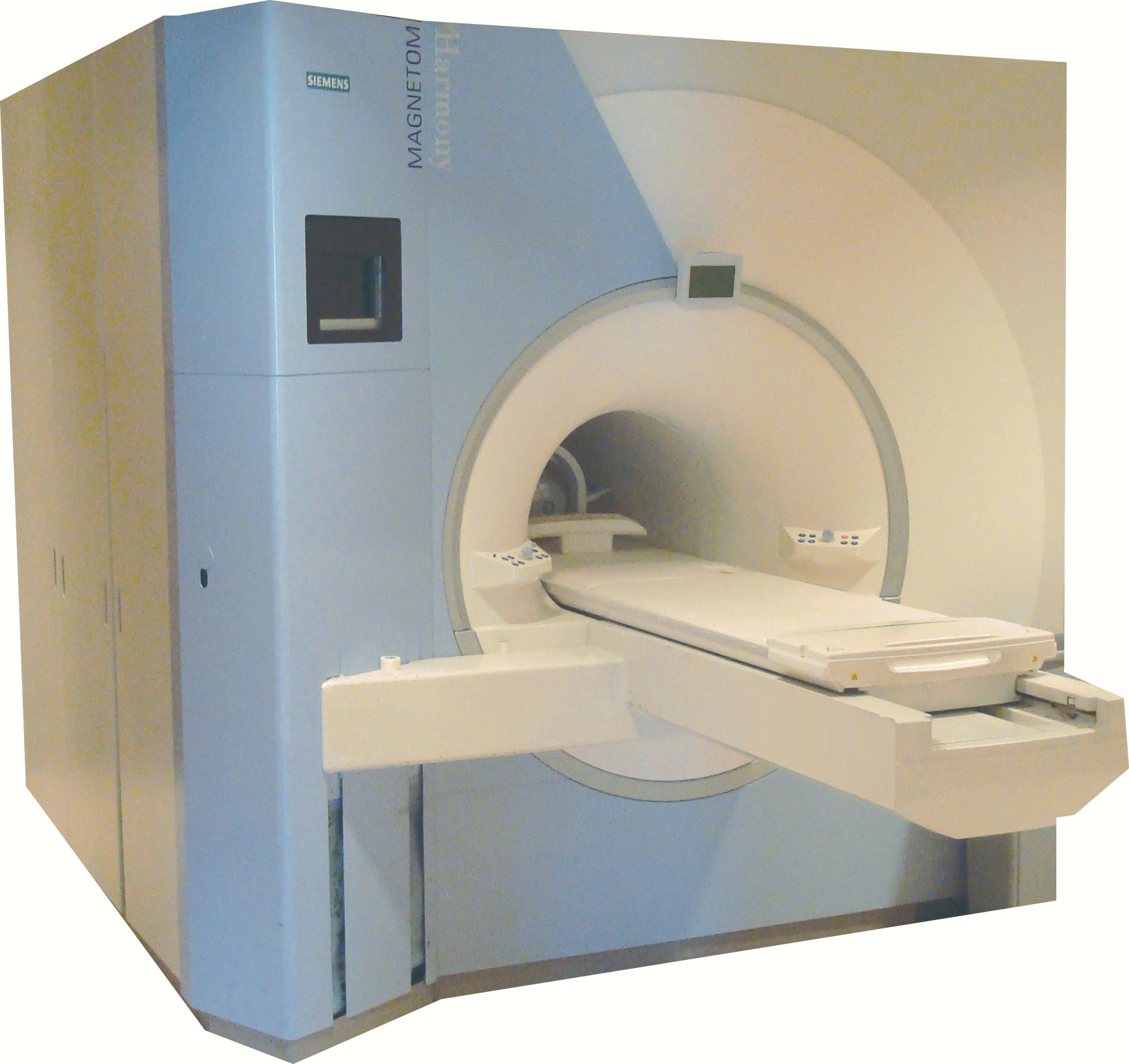 What does an open mri machine look like