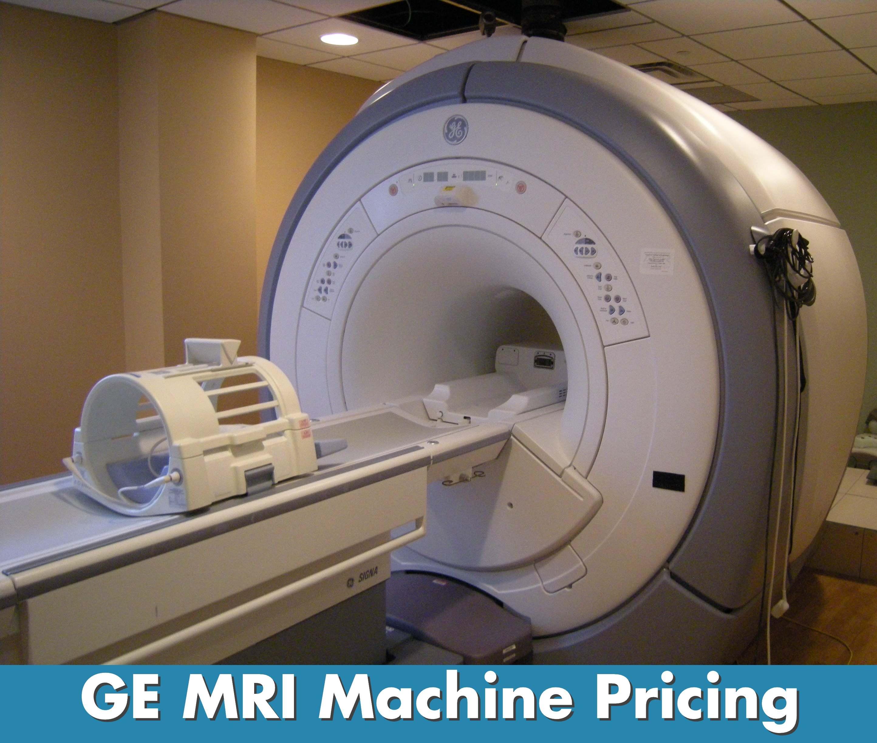 mri machine cost