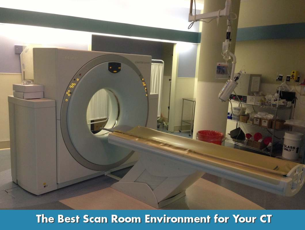The Best CT Scan Room Temperature and Humidity for Maximum Uptime #257FA6