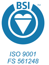 ISO Certification Logo for Block Imaging Parts & Service