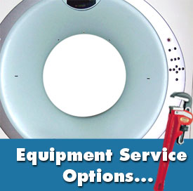 medical equipment service options