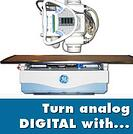 convert analog x-ray to digital x-ray