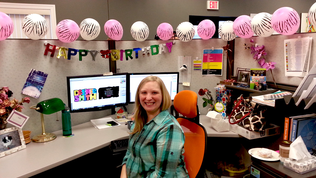 Birthday Decorating Office At Work Home Design 2017