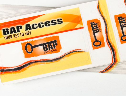 Example of Bar Access Card by Plastic Printers, Inc.