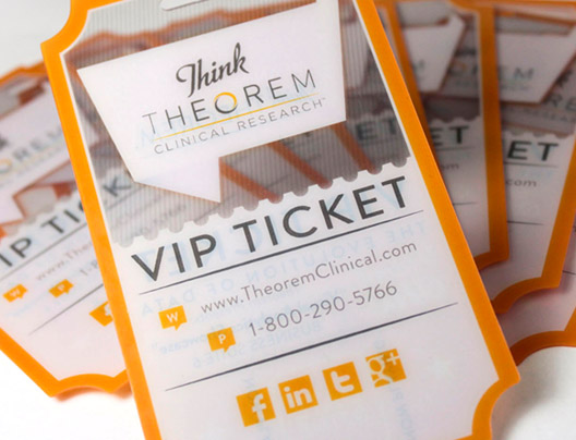 Example of Custom VIP Passes for Theorem Clinical Research