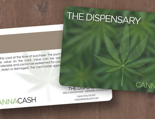 Example of medical marijuana card for The Dispensary