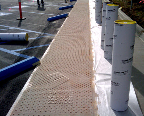 Truncated Dome Amp Ada Detectable Mats Repairs And Installations