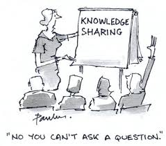 Knowledge is sharing