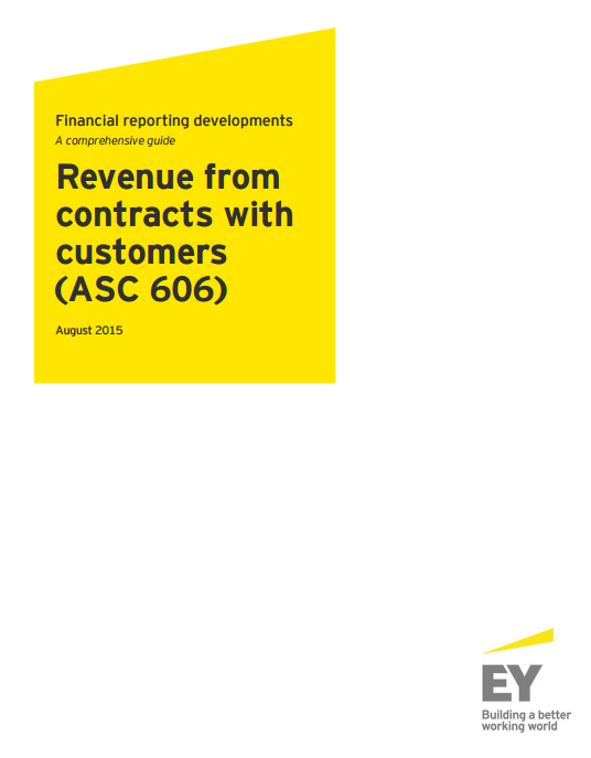 EY Revenue from Contracts with Customers