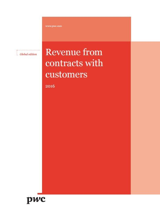 PWC 2016 Revenue from Contracts With Customers