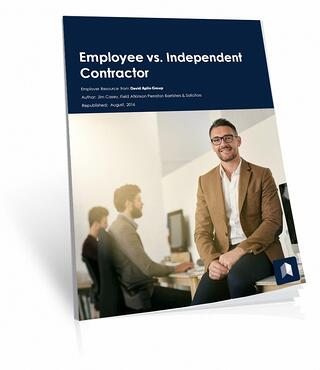 employee versus contractor