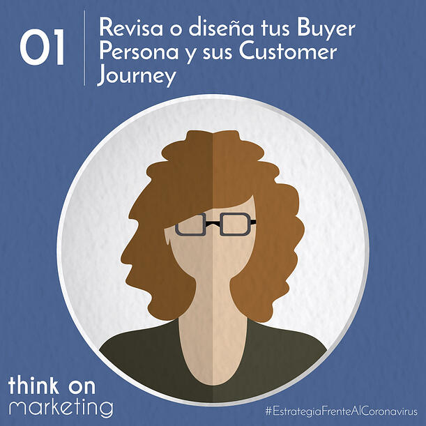 Revisa tus buyer persona y sus customer journeys