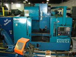 2001 Kasuga Quantum Q-1000VS Vertical Machining Center (#1108)